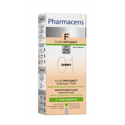 Pharmaceris F Pore Refining Fluid SPF 25  01